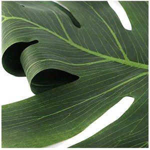 Party Supplies - Faux Monstera Leaf Placemat